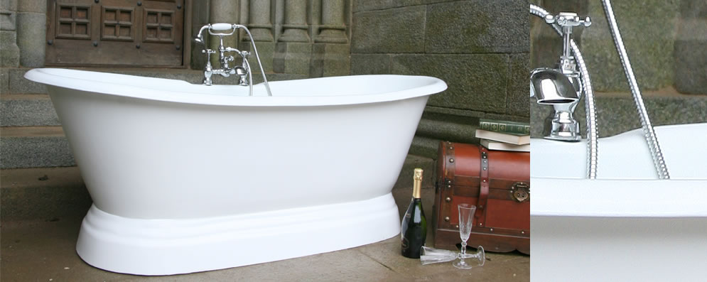 Kingston Double Plinth Bath